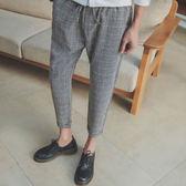 九分格紋褲【CG68-K50】(ROVOLETA)