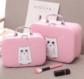 化妝包 化妝箱大容量便攜簡約旅行收納盒收納包可愛圖案手提 - 雙十二交換禮物