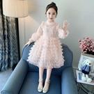 女童連衣裙2021春夏秋裝新品小女孩仙女裙子寶寶洋氣童裝公主裙子 快速出貨