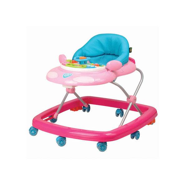 【ViVibaby】汽車學步車(藍/粉) A070757【限宅配】