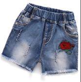 女童牛仔短褲夏季2018新款韓版時尚中大童薄款小女孩外穿兒童熱褲  百搭潮品