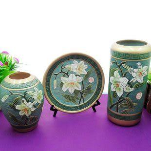 現代陶藝三件套