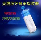藍芽音頻接收器USB戶外音響藍芽棒連接手機藍芽發射器音樂接收器 至簡元素