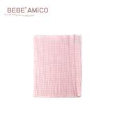bebe Amico-條紋多功能彈性肚圍-粉