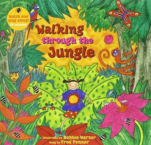 Walking Through The Jungle 勇闖大自然 平裝繪本(CD一入)