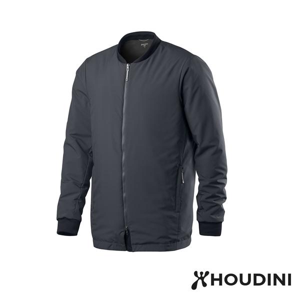 瑞典 Houdini Pitch Jacket 長版MA-1版型鋪科技棉夾克 男款 大爆炸藍 #205854
