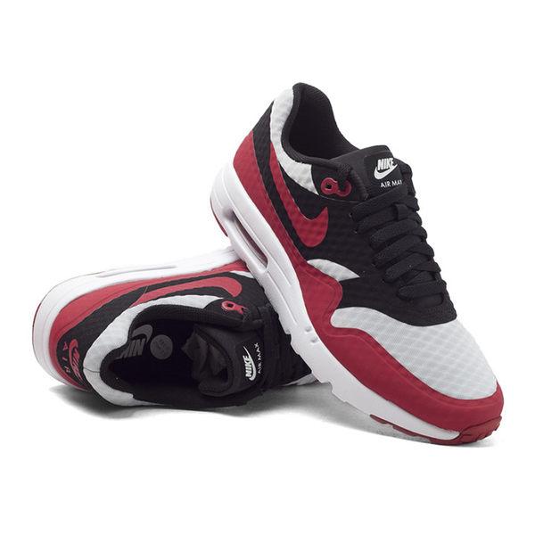 *Nike Air Max 1 Ultra Essential 男 黑 白紅 氣墊 輕量 運動 休閒 819476-005