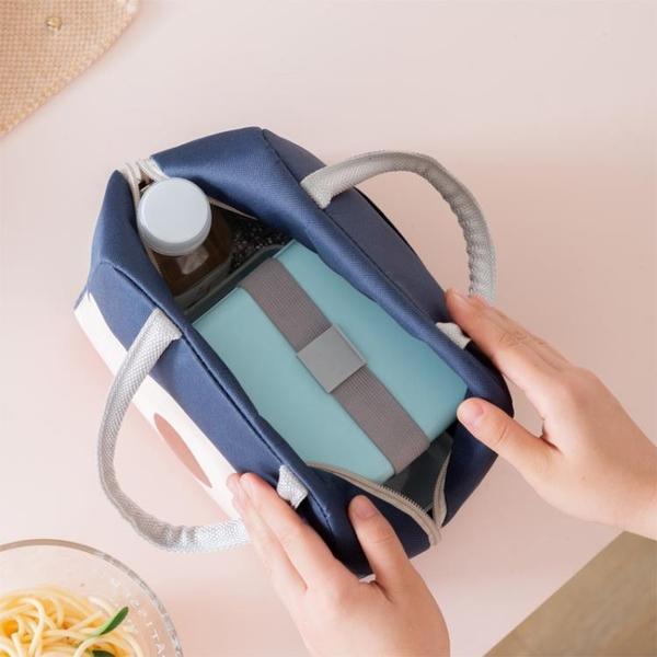 飯盒手提包防水保溫袋學生上班族帶飯便當袋簡約鋁箔加厚保暖袋子 創意新品