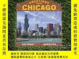 二手書博民逛書店Greetings罕見from ChicagoY410016 Dominic Couzens Thunder