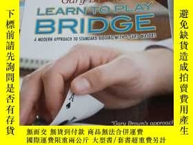 二手書博民逛書店LEARN罕見TO PLAY BRIDGE 英文橋牌書Y354