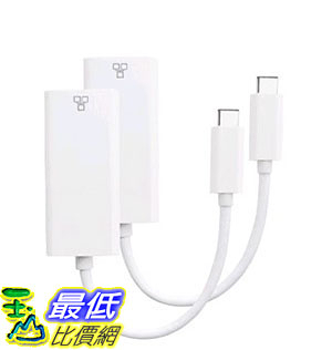 [105美國直購] 美國進口 Direct Access Tech. USB 3.1 Type C to Gigabit Ethernet LAN Network Adapter (4054)