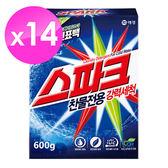 【韓國AK】SPARK洗衣粉(冷水強效)600gX14入