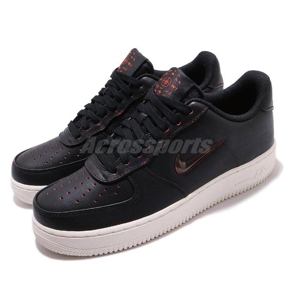Nike 休閒鞋 Air Force 1 07 PRM Home Away 黑 白 男鞋 AF1 運動鞋【ACS】 CK4392-001