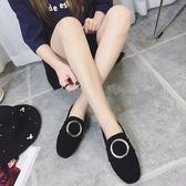 【618好康又一發】豆豆鞋女夏季低跟平底懶人鞋