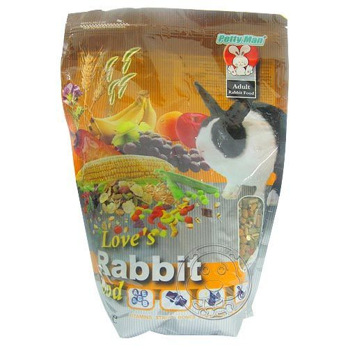 【培菓幸福寵物專營店】Pettyman》17-PM-302成兔全方位營養主食1kg