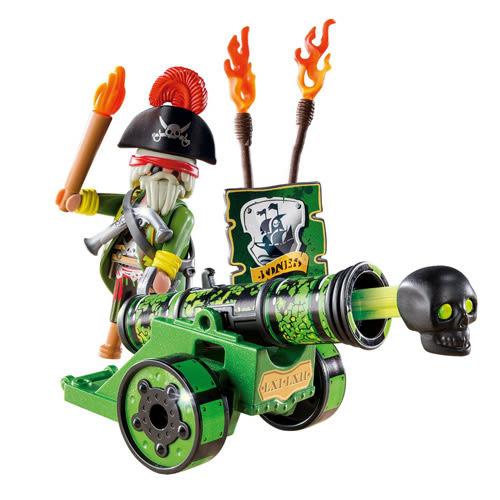 playmobil 海盜射擊組-綠_PM06162