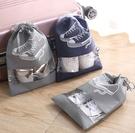 【網特生活】時尚鞋子收納袋.出國出差旅行收納包束口袋防塵袋鞋櫃防髒汙