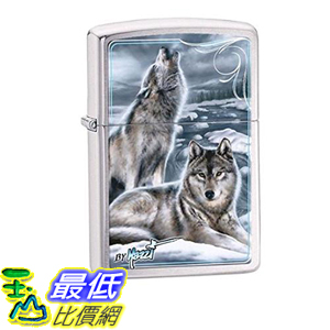 [美國直購] Howling Timberwolves Red eye Wolf Zippo Outdoor Indoor Windproof Lighter 打火機