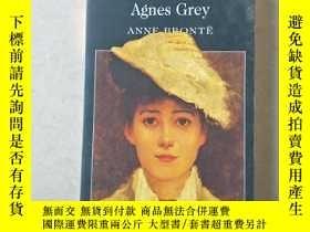 二手書博民逛書店艾格妮絲.格雷罕見Agnes Grey 英文原版 安妮.勃朗特Y447092 Anne Bronte Word