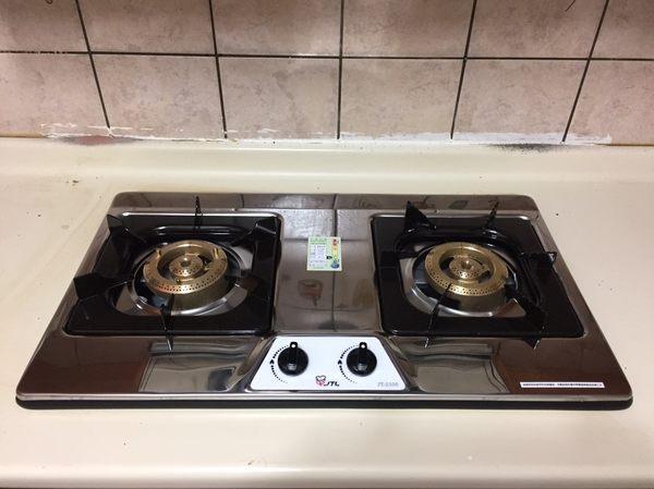(修易生活館) 喜特麗 JT-2100 雙口檯面爐 安裝費外加800