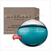 BVLGARI 水能量AQVA男性淡香水-100mL(TESTER包裝)[83077]