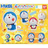 全套4款【日本正版】哆啦A夢 可動造型 扭蛋 轉蛋 公仔 小叮噹 DORAEMON BANDAI 萬代 - 269410