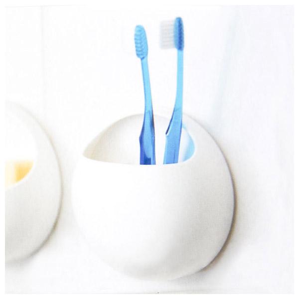 吸盤式牙刷架 basupo NITORI宜得利家居
