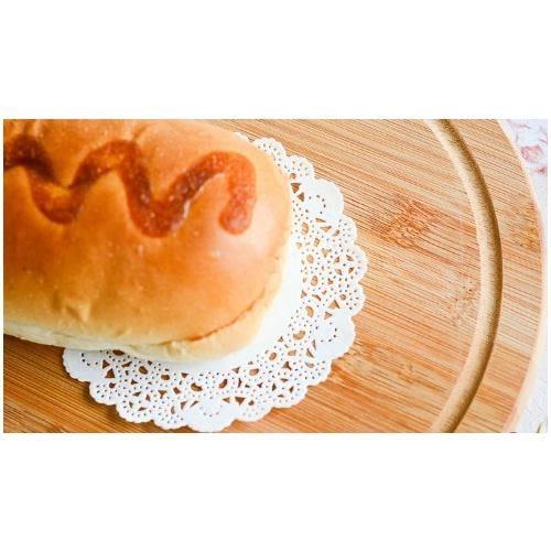[24hr-快速出貨]  烘培墊 蛋糕 蕾絲 花朵 底紙 吸油紙 點心 麵包 烘焙紙 1包 優雅