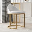 化妝椅 北歐簡約家用梳妝台凳子輕奢靠背化妝椅子現代臥室網紅梳妝凳子 618購物節 YTL