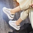 內增高小白鞋女2020年夏季新款百搭網紅厚底鬆糕鞋子春秋女鞋白鞋 夢幻小鎮