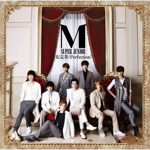 SUPER JUNIOR-M  太完美 Perfection CD附DVD 日本版初回限定  (購