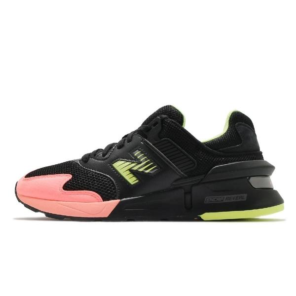 New Balance 休閒鞋 997 Sunset 黑 橘 復古運動鞋 NB 紐巴倫【ACS】 MS997KL1D