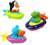 兒童玩具 洗澡 泡澡 游泳 溫泉 拉繩發條機械 戲水 三款 寶貝童衣