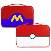 [哈GAME族]滿399免運費 可刷卡●熱銷推薦●瑪利歐大款 升級款皮質收納包 主機收納包 便攜外出包