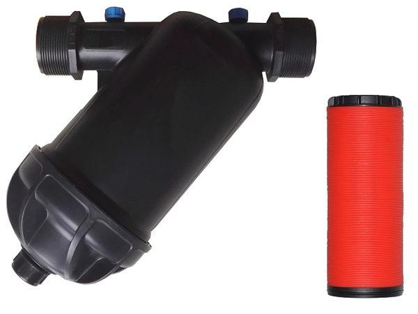 2 吋 120mesh 塑鋼型片狀式灌溉用過濾器
