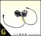 ES數位 Nikon相機 閃燈相機PC孔 轉熱靴 同步線 連接器 離機同步線 HP-N