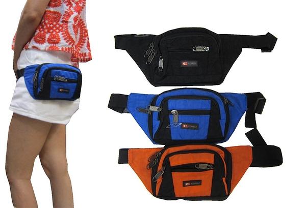 ~雪黛屋~COMELY 腰包超小容量主袋+外袋共四層輕巧工具包隨身運動腰包防水尼龍布材質C1039