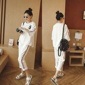 夏季休閒韓版寬鬆半袖套裝女版運動兩件套潮 LQ1967『小美日記』
