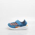 ADIDAS  包腳  兒童運動涼鞋-藍...