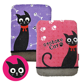 日本製造  黑貓纖維液晶螢幕擦拭布(紫色)K-016483