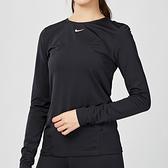 Nike Pro Dry L/S Slim Fit 女子 速乾 透氣 慢跑 長袖 T恤 AO9950-010