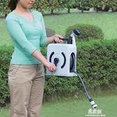 家用洗車水槍套裝 便攜式水管花灑軟管 花園澆水噴水YYS     易家樂