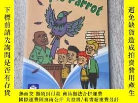 二手書博民逛書店Mystery罕見at the Purple Parrot(Pe