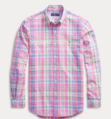 美國代購 Polo Ralph Lauren 二種顏色 格紋牛津襯衫 (XS~XXL) ㊣