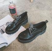 小皮鞋女鞋子女2018秋季新款日系軟妹學生正韓百搭單鞋潮 99狂歡購物節