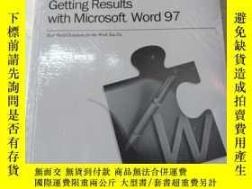 二手書博民逛書店Getting罕見Results With Microsoft Word97Y270598 MICROSOF