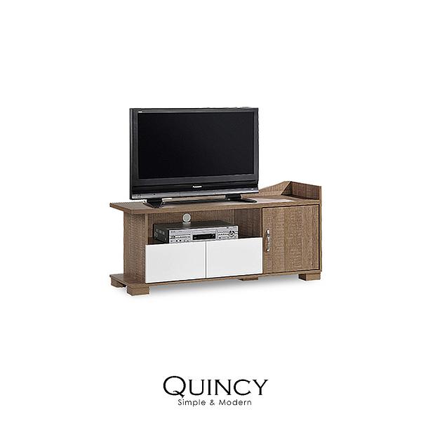電視櫃 玄關櫃 鞋櫃 Quincy 4尺時尚收納電視櫃(LS/CAH-001-10收納4尺電視櫃)【DD House】時尚家居