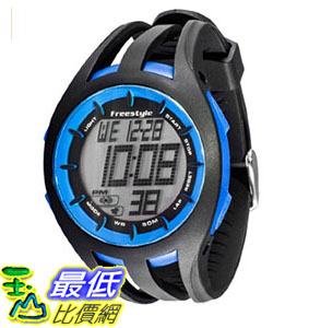 [106美國直購] Freestyle 手錶 Unisex 101803 B008RPAMVW Condition Round Digital Blue Big Display Watch