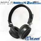 KTNET HPiA手機電腦二用頭戴式耳...