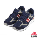 New Balance 新竹皇家 X-90 藍色 網布 皮質 拼接 休閒運動鞋 男女款 NO.B0508